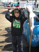 Jacob and Thresher Shark