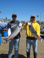 Terry and Larry and salmon