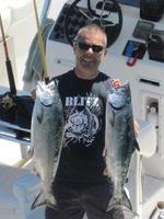 Doug and salmon
