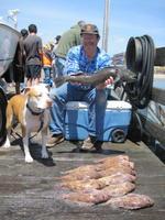 Max and Darn Glenn and mess of fish