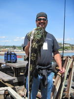 Bill and lingcod