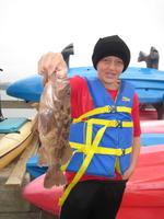 Connor and brown rock cod