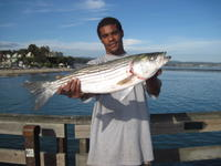 Billy and striped bass