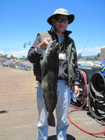 Ken and lingcod