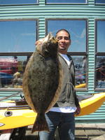 Ismael and halibut