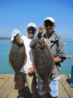 Dave Mike and halibut