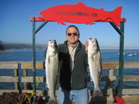 John and two stripers