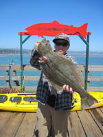 Joey and halibut