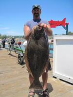 Darin and halibut