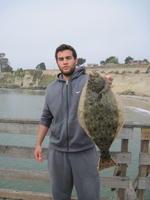 Keon and halibut