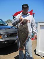 Chris and halibut