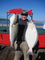 Butters and striper and halibut