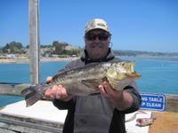 Jim and calico bass