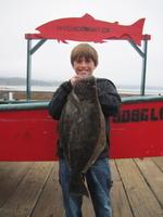 Nico and halibut