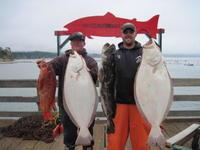 Kurtis and Tim and vermillion and halibut and lingcod
