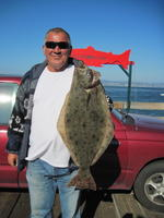 Dave and halibut