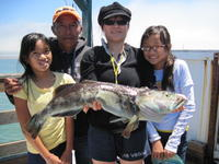 Lee family and lingcod