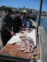 Garcia family and mess o fish
