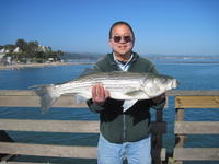 John and striped bass