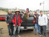 Team Tackle box and halibut and rockcod
