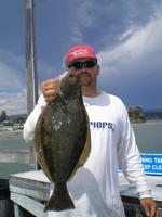 Andy and his Halibut