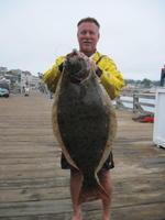 Steve and halibut