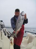 Jim and salmon