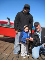 Martine and Marlin and Bill and rock cod