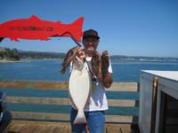 John and halibut and rock fish