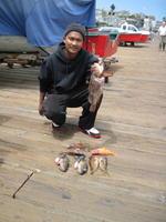 Ryan and rock cod