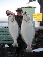 Kurtis and halibut