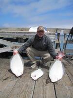 Tony and halibut
