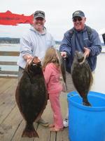 Jeff and Madeline and Doug and halibut