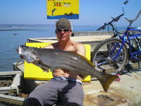 Kurtis and White sea bass