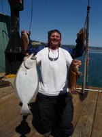 Myron and Stenographer and Halibut and Rock Fish