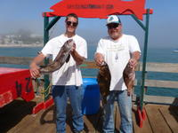 Robert and Bill and ling and rock cod