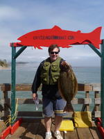 Mark and halibut