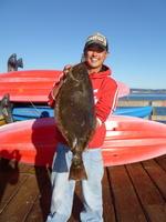 Tuk and halibut