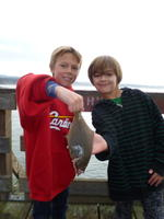 Dylan and Carson With sand sole