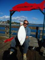 Ed and frist halibut.