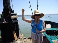 Jill and walleye perch