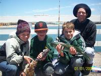 Santa Cruz: John, Noah, Severin and Christopher