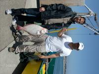 Santa Cruz: Hans and Hans caught this fish in under an hour and it was the first time they ever fished in the ocean.
