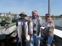 Capitola: First Salmon of 2012!