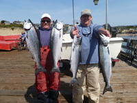 Capitola: Frank and Jim and Salmon