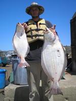 Ken and halibuts