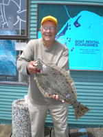 Andy and Halibut