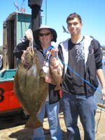 Ross and Josh and Halibut and Rock cod