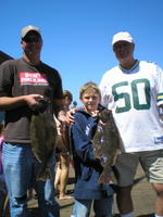Grant, Colin, and Jim and catch