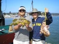 Ken John and rock fish
